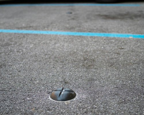 One magnetic ground sensor is needed for each parking spot.
