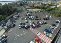 Large outdoor parking lots are best monitored by camera-based systems